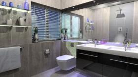 Banyo İç Dekorasyonu