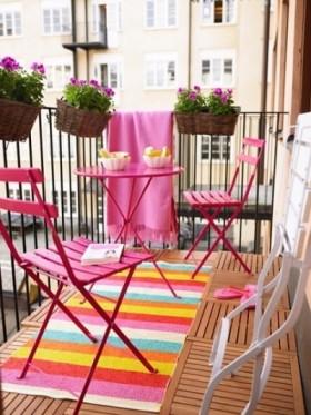 Balkon Dekorasyonu için Öneriler