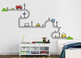 Çocuk Odaları İçin Sticker Yapışkan Modelleri