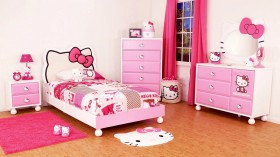 Çocuk Odalarında Hello Kitty Modası