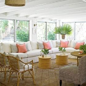 Tropik Stil Ev Dekorasyonu