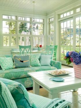 Ev Dekorasyonunda Mint Yeşili Modası