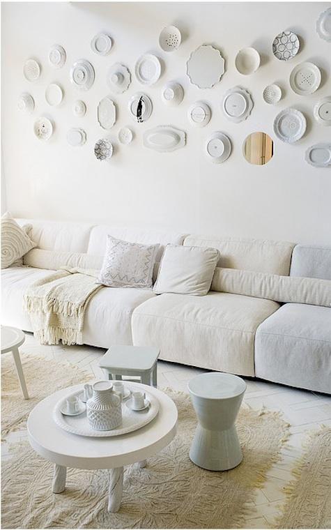 Beyaz Renkleri Evinize Kazandırın