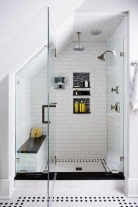 Çatı Katı Evler İçin Banyo Önerileri