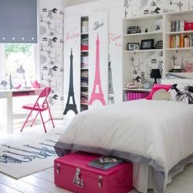 Genç Kız Odası Mobilya Dekorasyonu