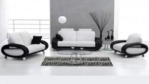 Siyah Beyaz Dekorasyon