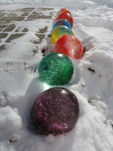 su dolu donmus balon dekorasyon