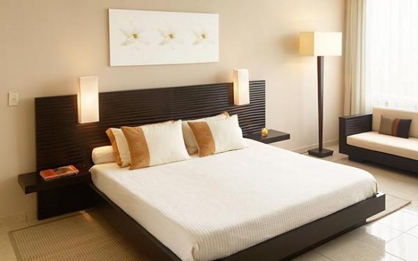 Yatak Odası Dekorasyonunda Kahverengi