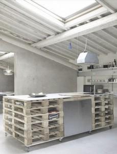 Mutfaklarda Eski Palet