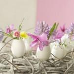 Yumurta kabuğunda Çiçek Ekmek