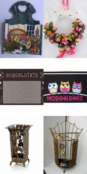Dekorasyonun İnce Detayı: Kapı Önü Aksesuarları