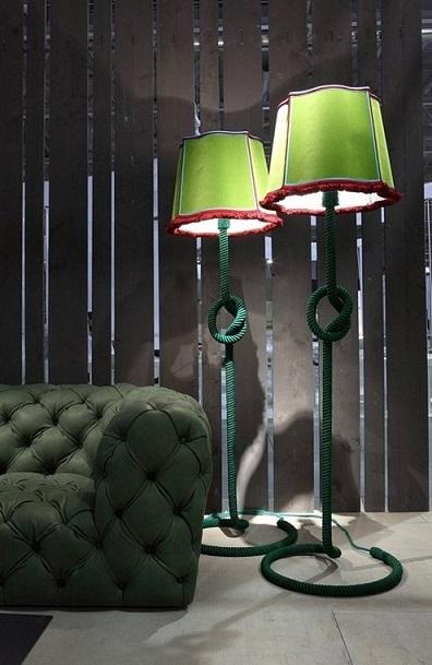 Lambader ya da Yer Lambalarının Dekorasyonda Kullanımı