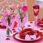 Sevgililer Günü Yemek Masası