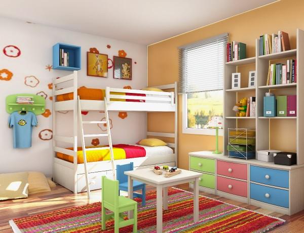 Çocuk Odası Nasıl Düzenli Hale Getirilir?