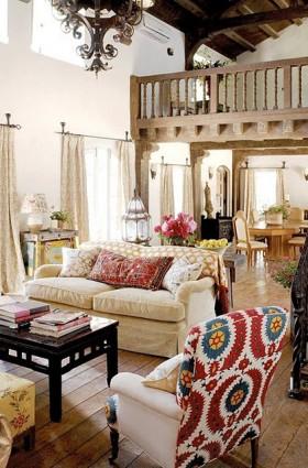 Fransız Kır Evi Stili Dekorasyon