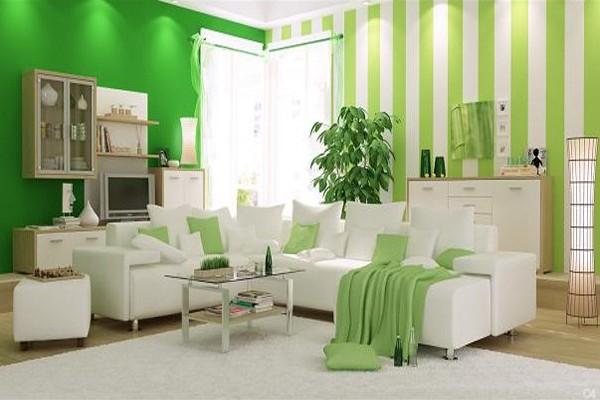 Dekorasyonda Zarif Yeşil Tonları