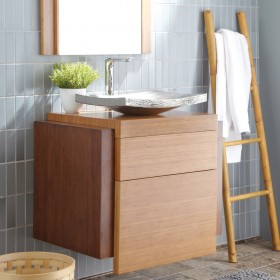 Banyoda Bambu Şıklığı
