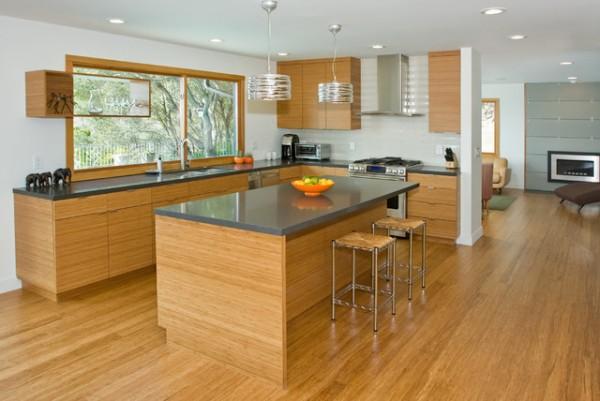 Mutfakların Son Trendi; Bambu