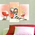 Çocuk Odası Kanvas Tablo
