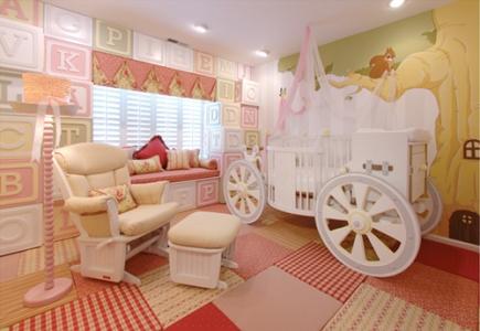 İlginç Bebek Odası Dekorasyon Fikirleri