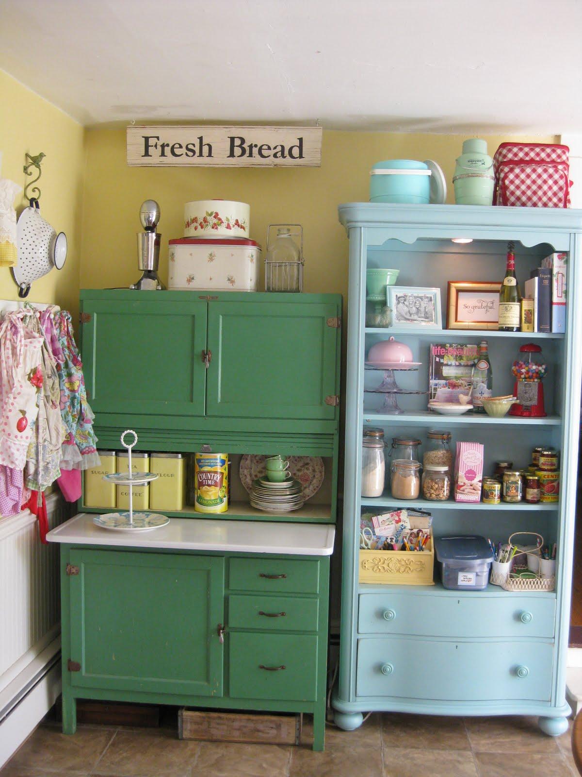 Otantik mutfak dekorasyonlar dekor ya am for Muebles cocina vintage