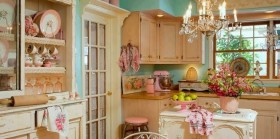 Otantik Mutfak Dekorasyonları