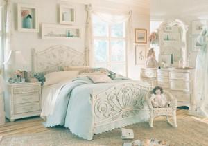 Vintage Yatak Odası