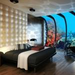Su altı Yatak Odası