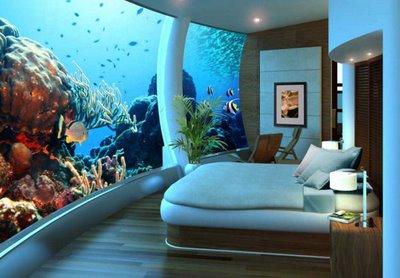 Yatak Odalarında Su Altı Dekorasyonu