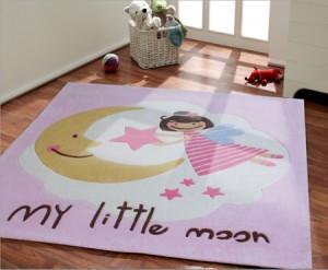 Kucuk Perili Hali 300x247 Bebek Odası İçin Dekorasyon Fikirleri