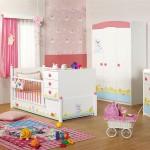 bebek odasi modelleri 150x150 Bebek Odası İçin Dekorasyon Fikirleri