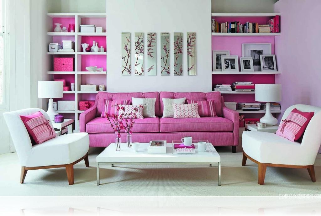 Romantik Salon Dekorasyonu 1024x689 ...
