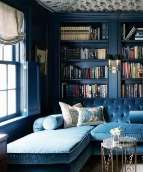 Ev Dekorasyonunda Trend Renkler: Kadet Mavi