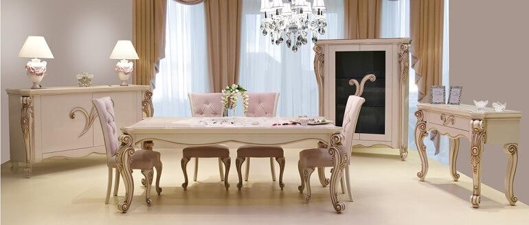 Klasik Yemek Masası Modelleri