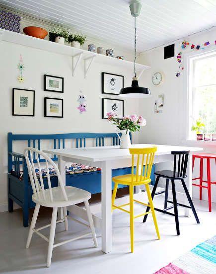 Keyifli ve Eğlenceli Yemekler İçin: Renkli Yemek Alanları