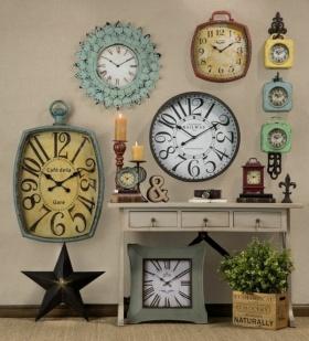 Vintage Tarzı Ev Dekorasyonu: Ahşap Duvar Saatleri