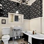 Banyo Siyah Avize