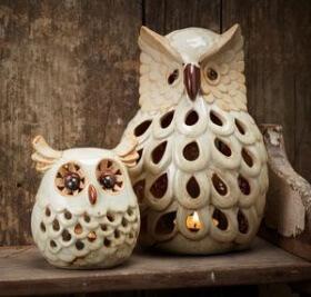 Dekorasyon Trendi: Baykuş Figürlü Objeler