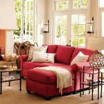 Kırmızı Oturma Odası