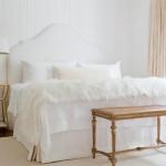Yatak Odasında Pudra Renk