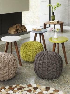 Kış Dekorasyon Trendi: Evlerde Örgü Modası