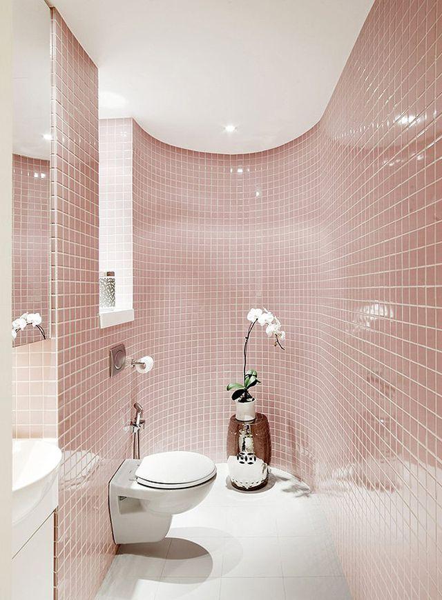 Pembe Kuvars Banyo