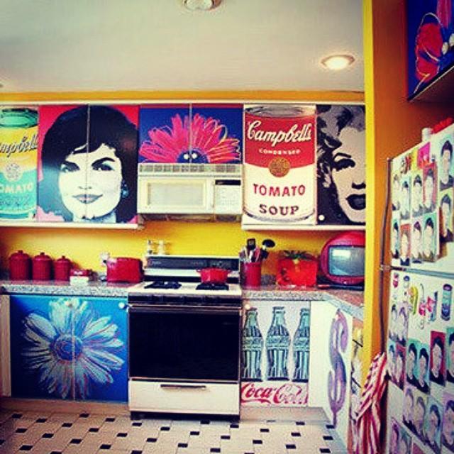 Pop-Art Mutfak Dekorasyonu