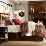 Şömineli Yatak Odası Dekorasyonu