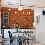 Taş Duvarlı Mutfak