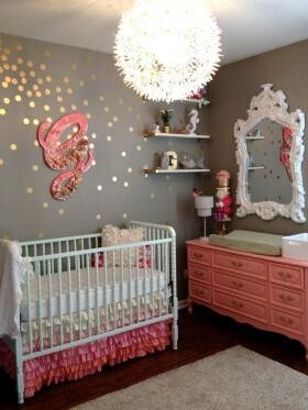 Kız Bebek Odası Dekorasyon Fikirleri