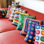 Geometrik Desenli Yastık Modelleri