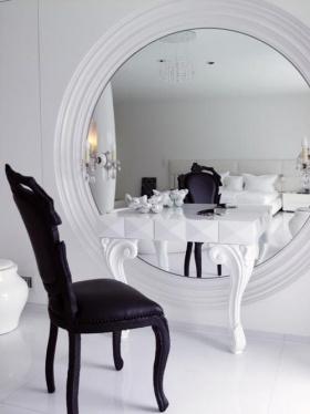 Makyaj Masalarında Boy Aynası Modası