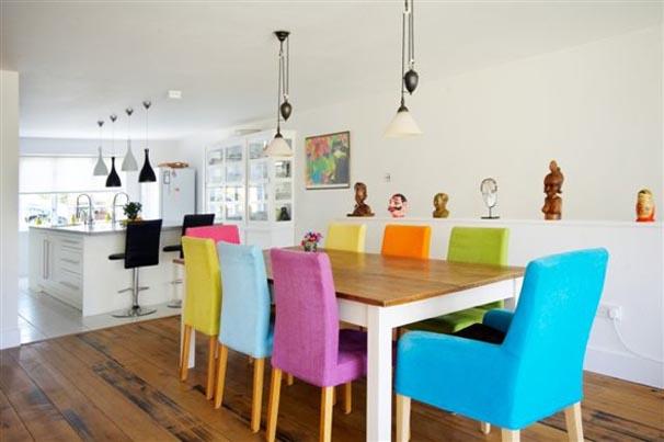 Renkli Sandalye Takımları