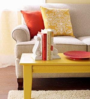 Sarı Turuncu Dekorasyon